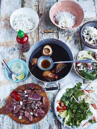 Pho - суп с говядиной