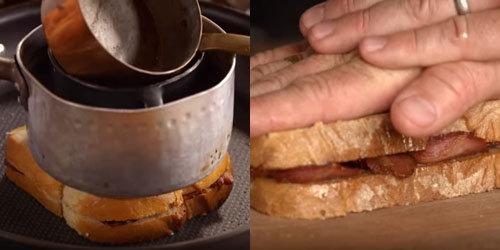 Мастер класс Джейми Оливера и Пита Как сделать сэндвич 7