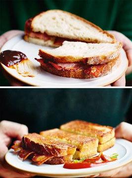 Эти два бутерброда восхитительны