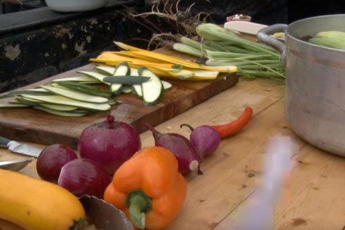 овощи на гриле 1