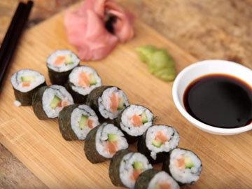 суши из лосося