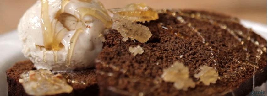 Slider имбирный торт