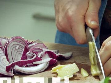 Как приготовить Легкий овощной карри 3
