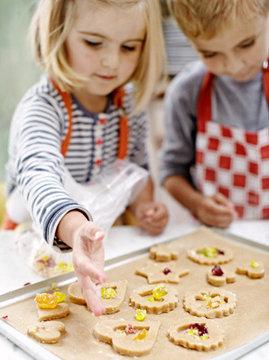 Дети будут в восторге от этого печенья!
