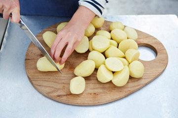 Жареный картофель с шалфеем и апельсином 1