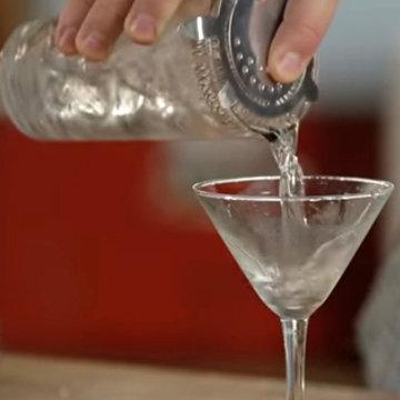 Мокрый мартини