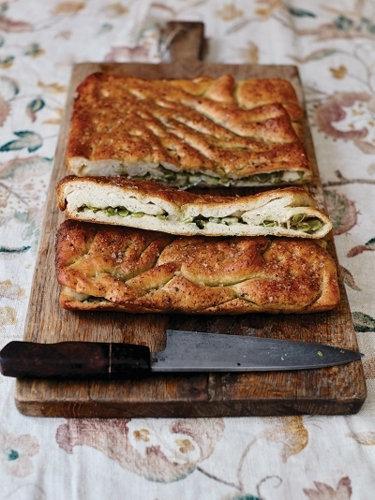 Фокачча рецепт с начинкой