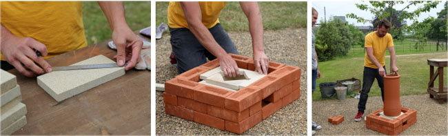 Как построить кирпичный тандыр 1