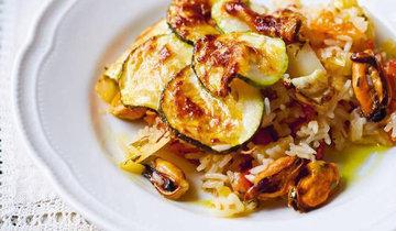 Рис в духовке Джейми готовит по мотивам итальянской кухни