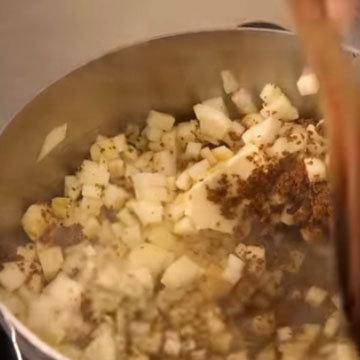 Карамельно-яблочное пюре 1