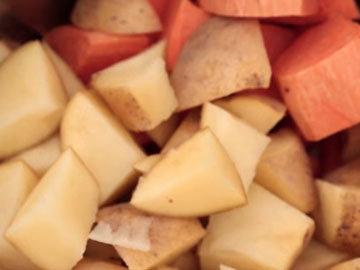 2. Картофель варить 20 минут