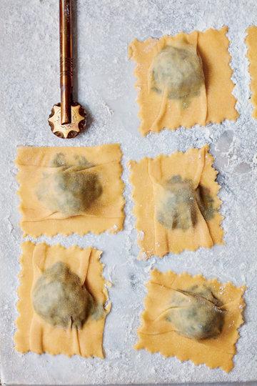 Равиоли - рецепт итальянской кухни