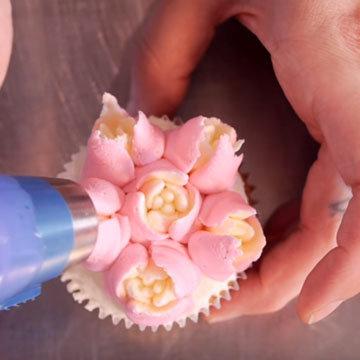 цветы из крема 3a