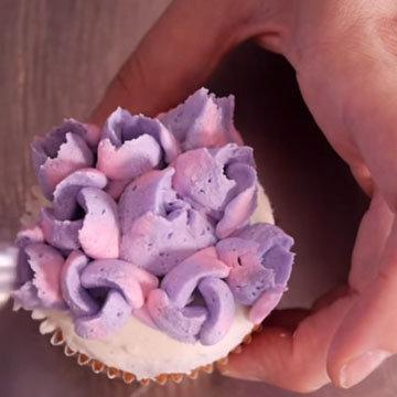 цветы из крема 4