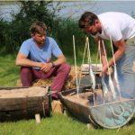рыбный пикник у костра
