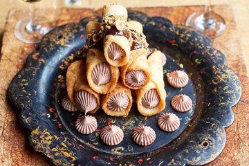 Канноли с шоколадом