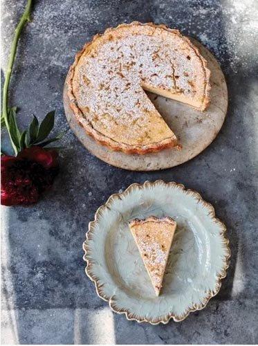 Лимонный тарт - рецепт на итальянский манер