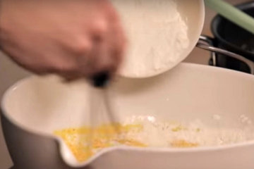 Мастер класс Кукурузный хлеб с сыром и чили 3