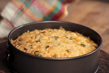 Мастер класс Кукурузный хлеб с сыром и чили 5