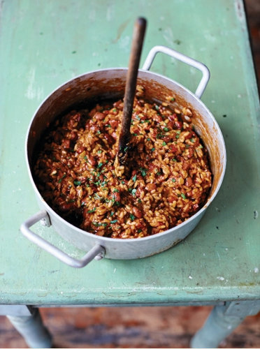 Приготовление риса Panissa