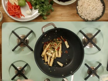Рецепт жареного риса 3