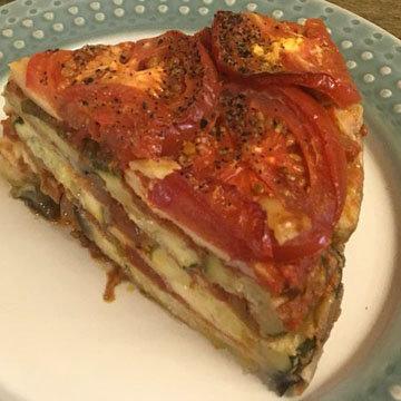 овощи в духовке по-итальянски
