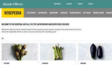 VEGEPEDIA - это алфавитный список овощей