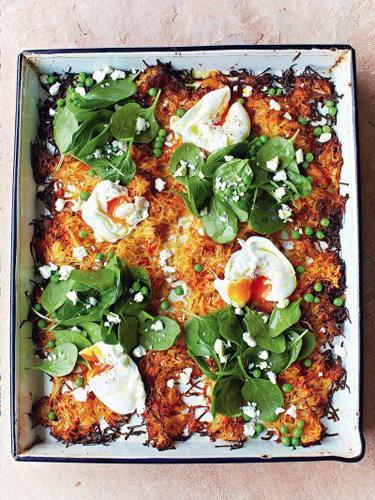 Основное блюдо. Драники из моркови в духовке
