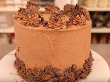 Это шоколадный торт - веганский р