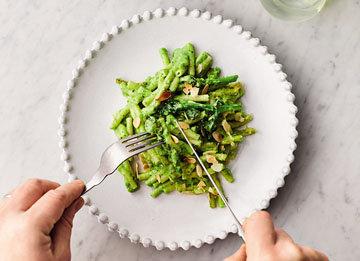 Макароны с сыром - рецепт с овощами