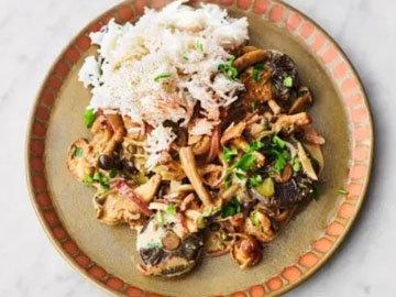Рецепт жареных грибов. Грибное рагу