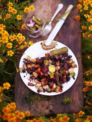 Мясо с овощами. Рецепт Питтипанна