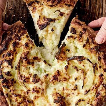 Пицца-пирог с цветной капустой