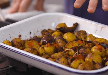 1. Картофель в специях