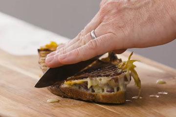 5. Сендвич с чатни из манго