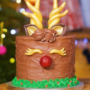 Рождественский пирог Рудольф