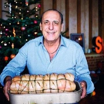 Мясо на Новый год в духовке Порчетта di davida 1