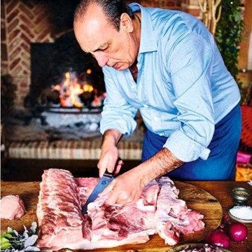 Мясо на Новый год в духовке Порчетта di davida 2