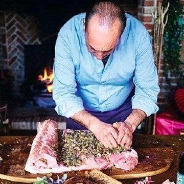 Мясо на Новый год в духовке Порчетта di davida 3