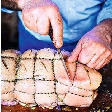Мясо на Новый год в духовке Порчетта di davida 4