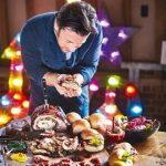 Мясо на Новый год в духовке рецепт Порчетта