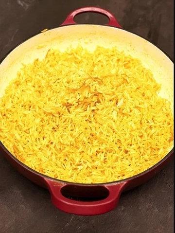 Как сварить лимонный рис