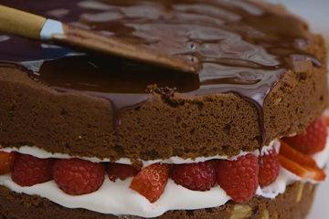 Торт собрать 5