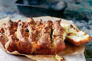 хлеб в духовке гармошка