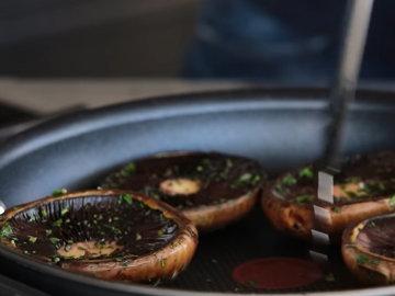 Как приготовить гамбургеры с грибами 6
