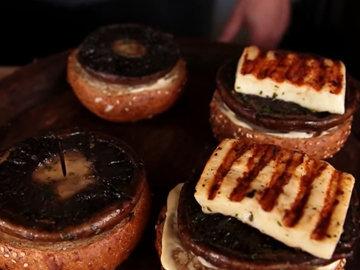 Как приготовить гамбургеры с грибами 8