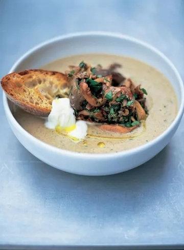 Настоящий грибной суп