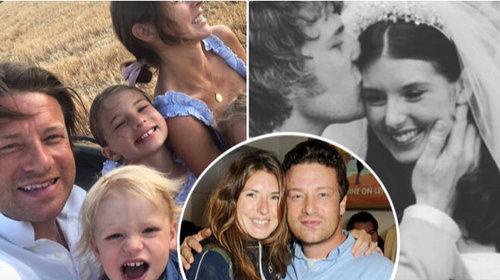 любовный путь знаменитого шеф-повара Джейми Оливера (44 года) и его жены Джулс