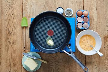 Как сделать идеальную яичницу 1