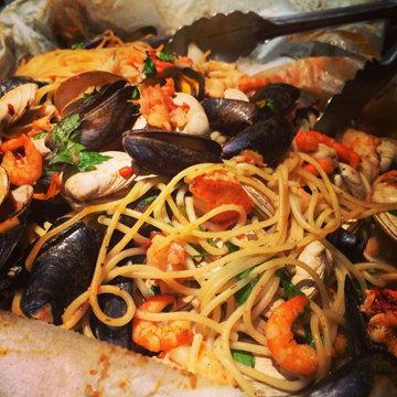 спагетти на медовый месяц